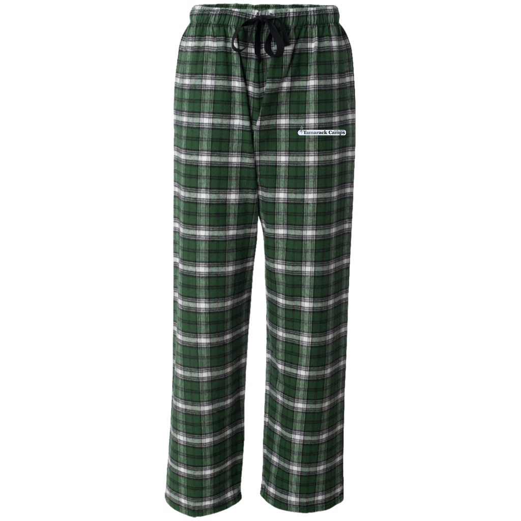 Flannel Pants- White Logo