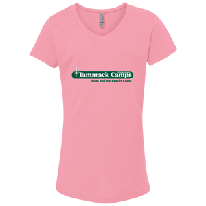 Mom and Me Girls V-Neck Tee