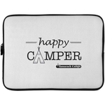 Happy Camper Laptop Sleeve - 15 Inch