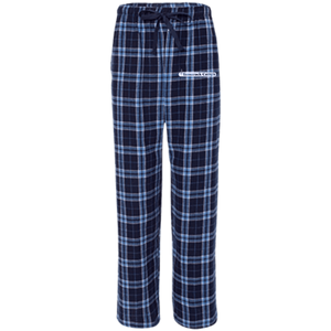 Youth Flannel Pants- White Logo