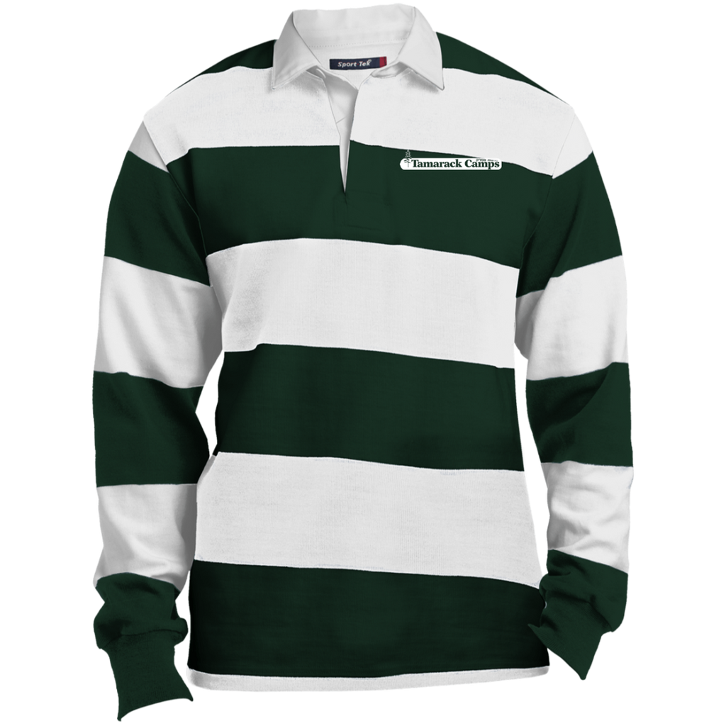 Rugby Polo- White Logo