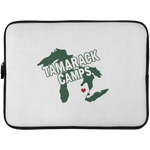 Michigan Heart Laptop Sleeve - 15 Inch