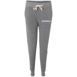 Ladies' Fleece Jogger- White Logo