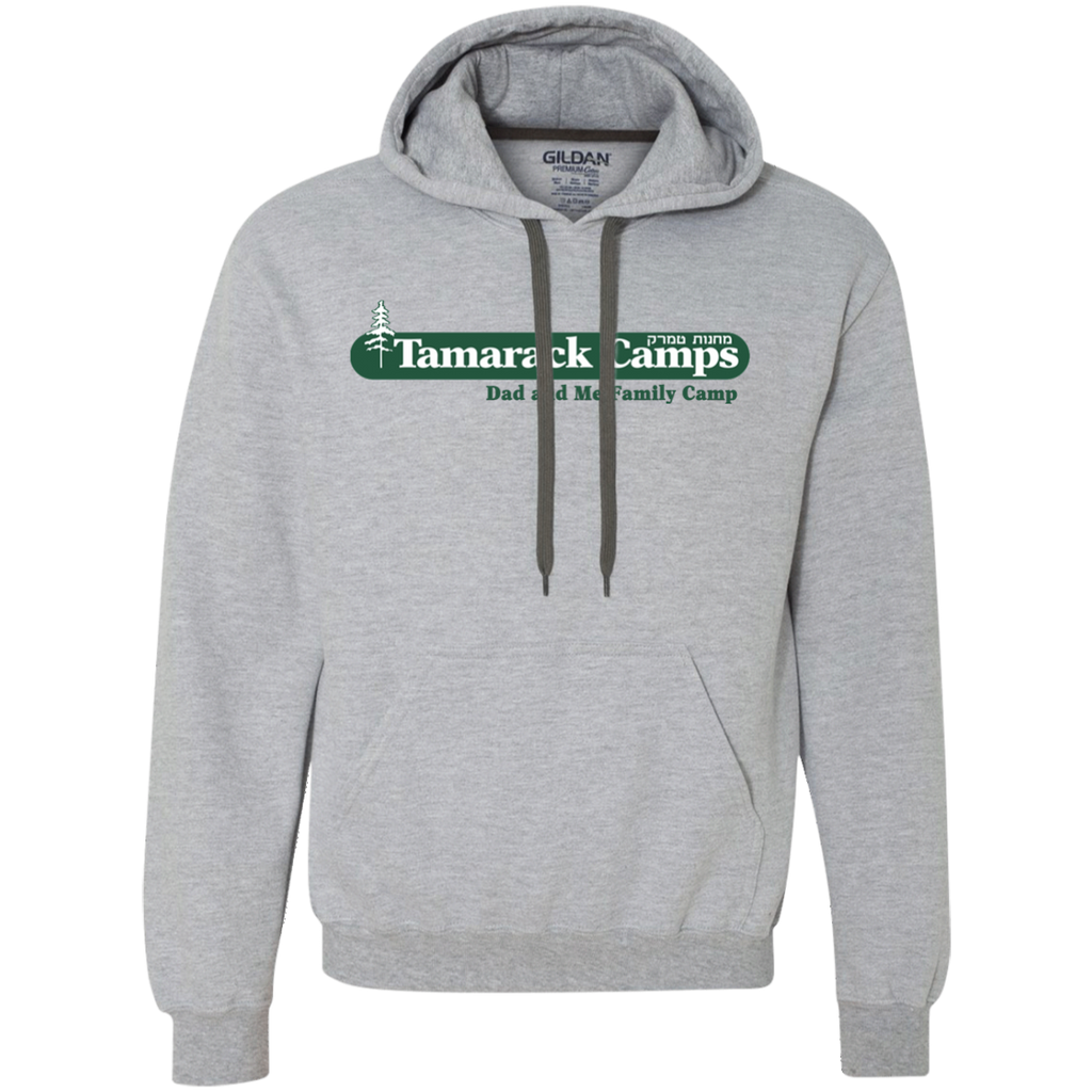 Dad and Me Pullover Fleece Sweatshirt (Front & Back)