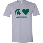MSU Loves Tamarack Tee