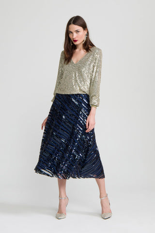 Ribana Sequin Top
