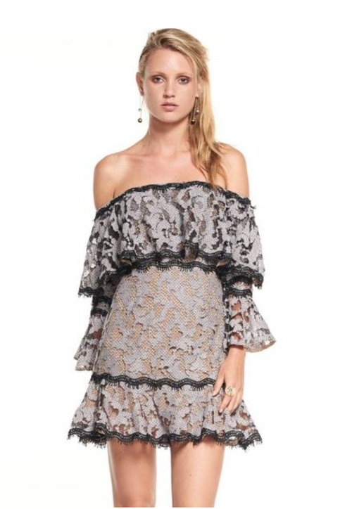 Genre Off Shoulder Dress