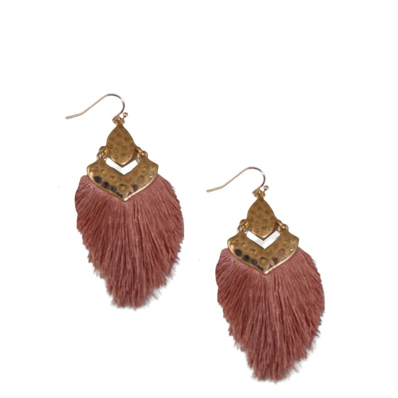 Carmen Fringe Earrings - Morph Boutique