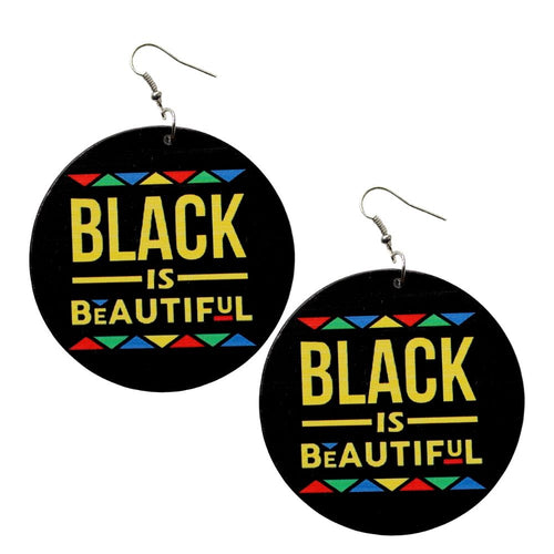 Black Is Beautiful Earrings - Morph Boutique
