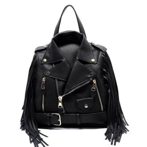 Harleigh Motorcycle Jacket Backpack - Morph Boutique