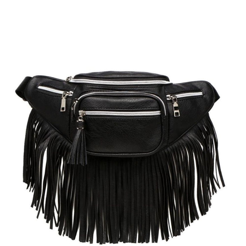 Contessa Fringed Belt Bag