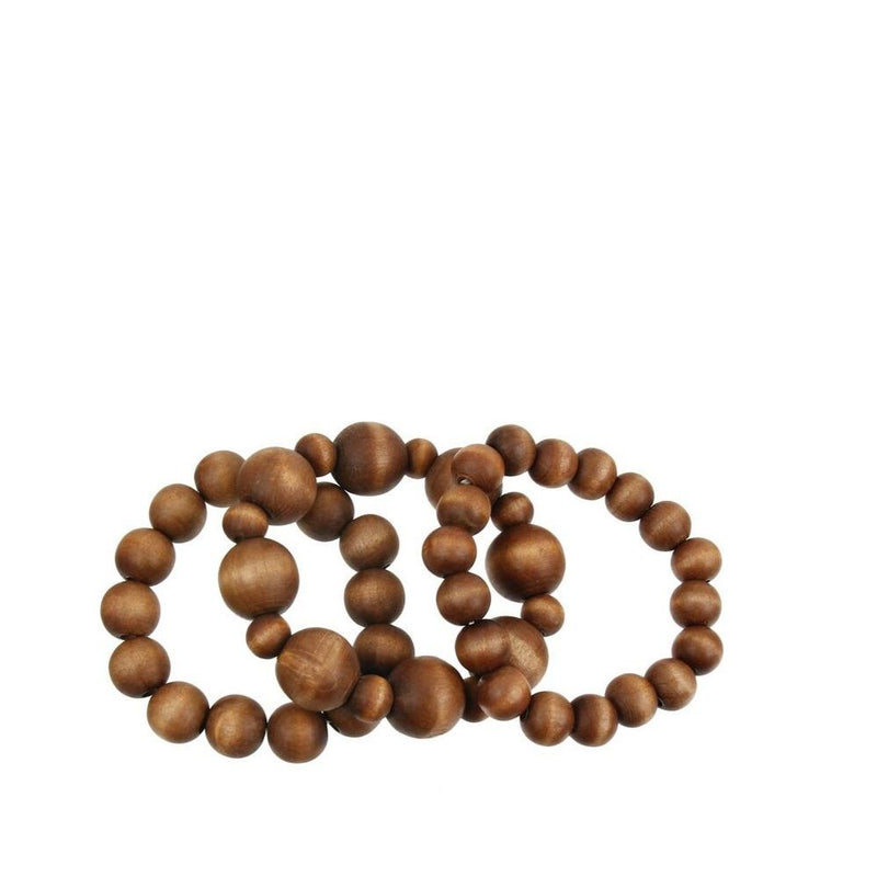 Naturi Beaded Bracelet- Brown - Morph Boutique