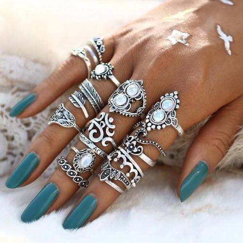 Jessie Vintage Midi Ring Set - Morph Boutique