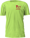 Zips Seasoning - Safety Green T-Shirt