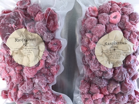Frozen Raspberries - 10 OZ