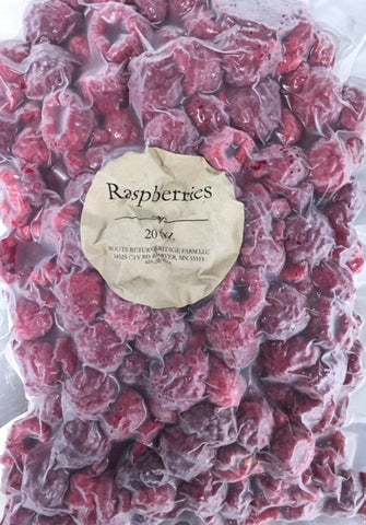 Frozen Raspberries - 20 OZ