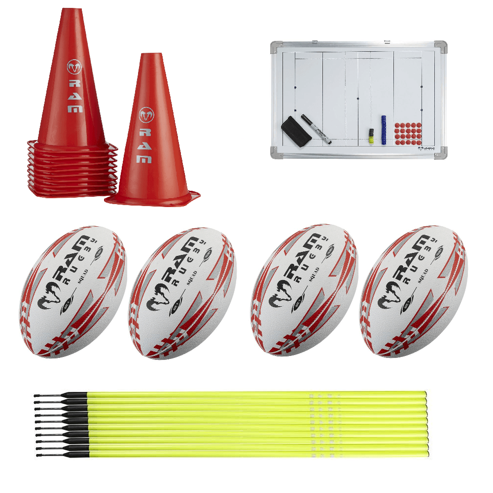 Ram Rugby Coaching Equipment Bundles