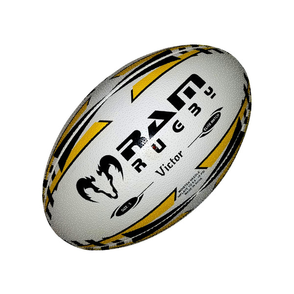 Houston Sabercats Victor Elite Match Ball by Ram Rugby