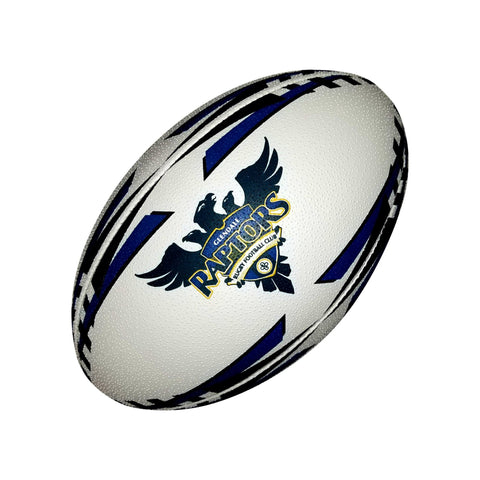 Glendale Raptors Gripper Pro Training Ball (Alternate Colors) by Ram Rugby