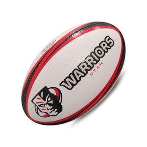 Utah Warriors Gripper Pro Training Ball (Alternate Colors) by Ram Rugby - RamRugbyUSA.com