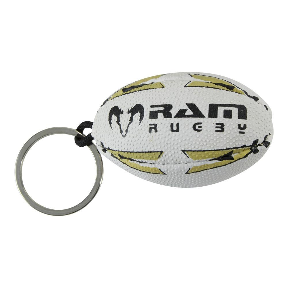 Ram Rugby Ball Key Rings
