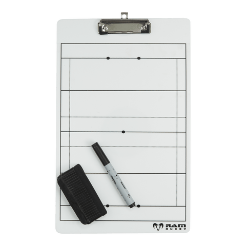 Ram Rugby Coaching Rugby Clipboard