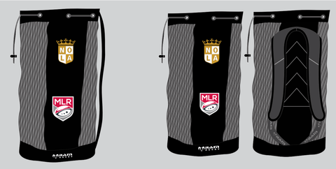 New Orleans Gold Breathable Ball Bag by Ram Rugby