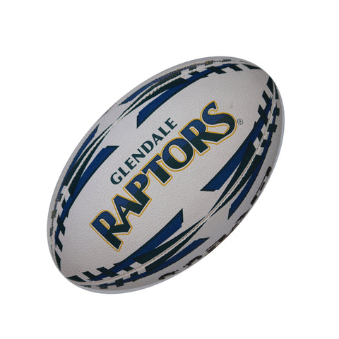 Glendale Raptors Gripper Pro Training Ball by Ram Rugby