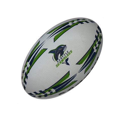 Seattle Seawolves Gripper Pro Training Ball by Ram Rugby - RamRugbyUSA.com