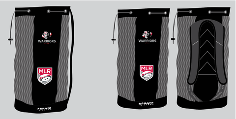 Utah Warriors Breathable Ball Bag by Ram Rugby