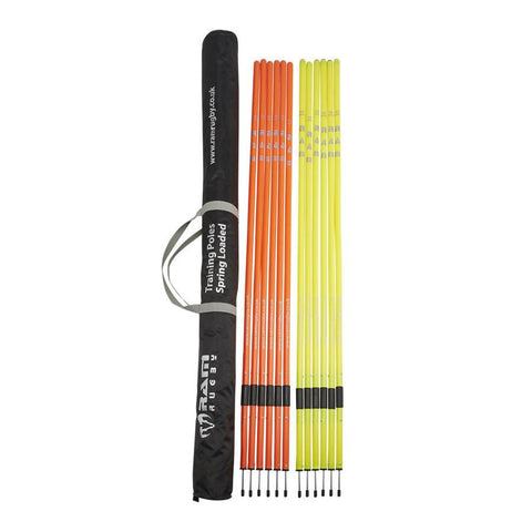 Ram Rugby Spring Loaded Training Poles