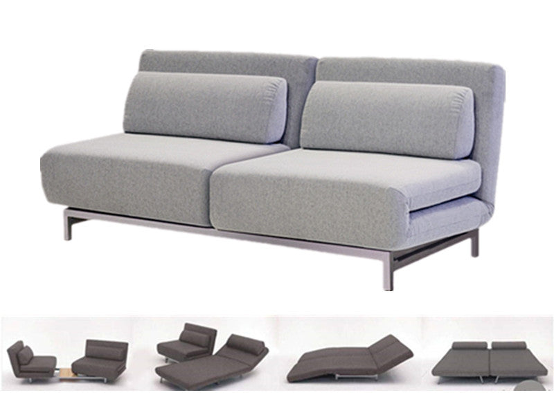 Iso Double Sofabed - Silver