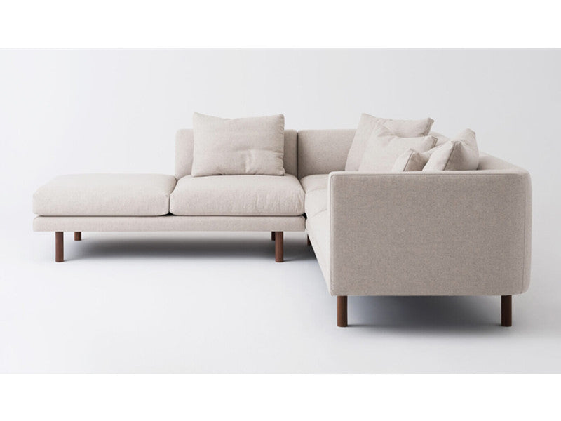 Replay 2-Piece Sectional Sofa With Backless Chaise