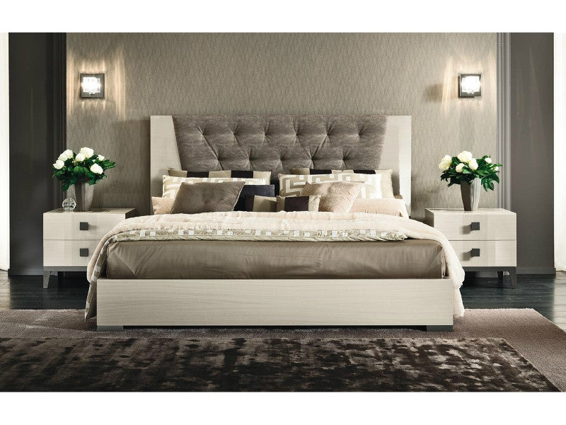 Mont Blanc Bed with Upholstered Headboard