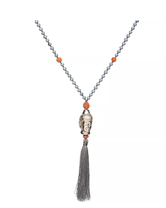 Indian Prayer Beads  Necklace