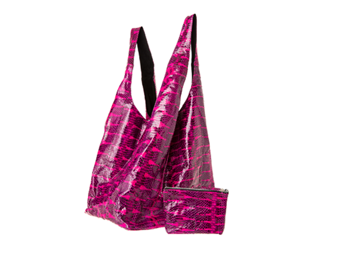 Pink Punch Water Snake Carry-All Bag