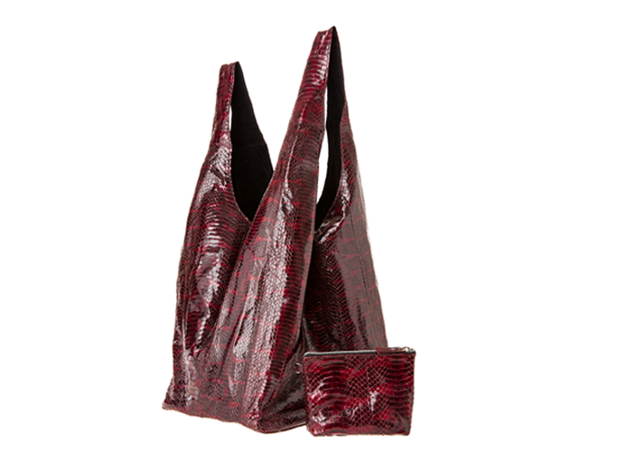 Red Wine Water Snake Carry All Bag