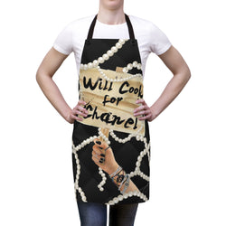 Will Cook for Chanel Apron - Studio One by Jodi Pedri