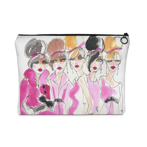 Group Date Carry All Pouch - Flat - Studio One by Jodi Pedri