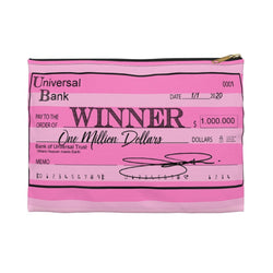 Winner Winner PinkAccessory Pouch - Studio One by Jodi Pedri