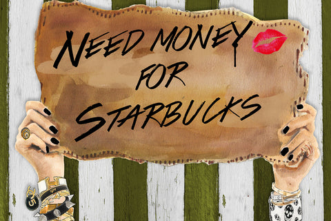 Need Starbucks wall art - Studio One by Jodi Pedri