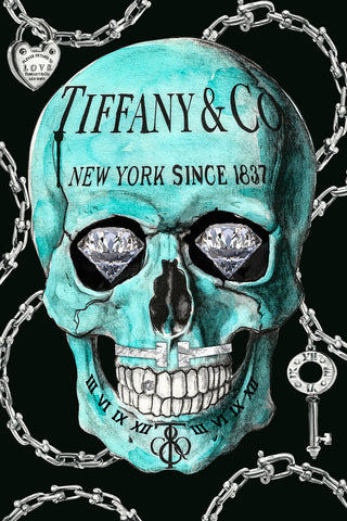 Tiffany Skull - Studio One by Jodi Pedri