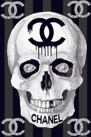 Chanel Skull - Studio One by Jodi Pedri