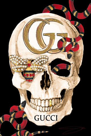 Gucci Skull - Studio One by Jodi Pedri