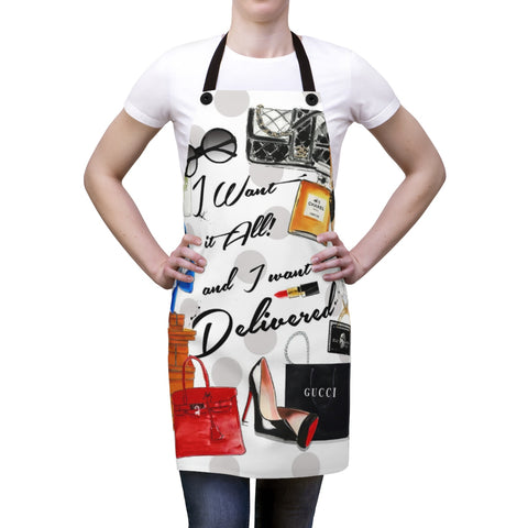 Want it all  Apron - Studio One by Jodi Pedri