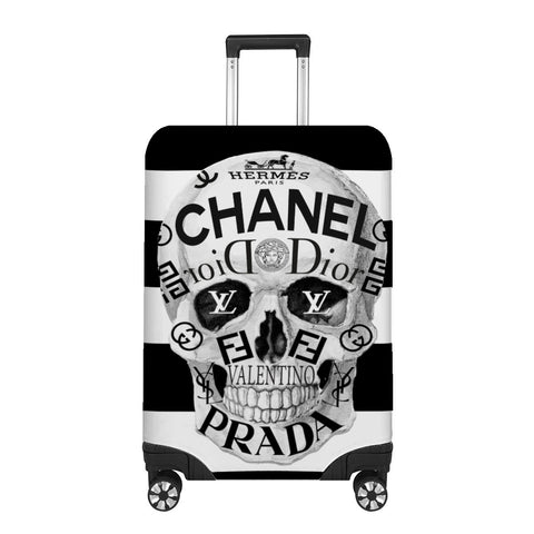 Couture to the bone Luggage Cover