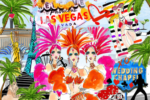 Las Vegas mini wall art - Studio One by Jodi Pedri