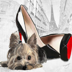 When in Paris Yorkie - Studio One by Jodi Pedri
