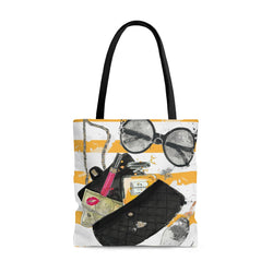 Yellow Pop Tote Bag - Studio One by Jodi Pedri