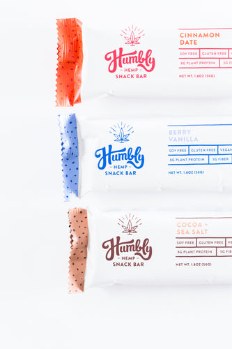 Hemp Bar Sampler Pack - 12 Bars